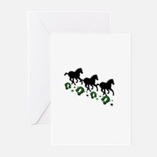 Horses Greeting Cards (Pk of 10)