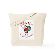 OBAMA CHANGE Christmas Tote Bag