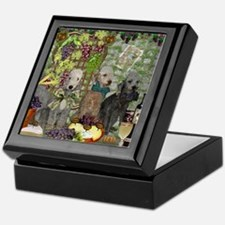 Bedlington Terrier Winery Keepsake Box