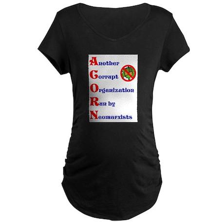 NO ! ACORN Maternity Dark T-Shirt
