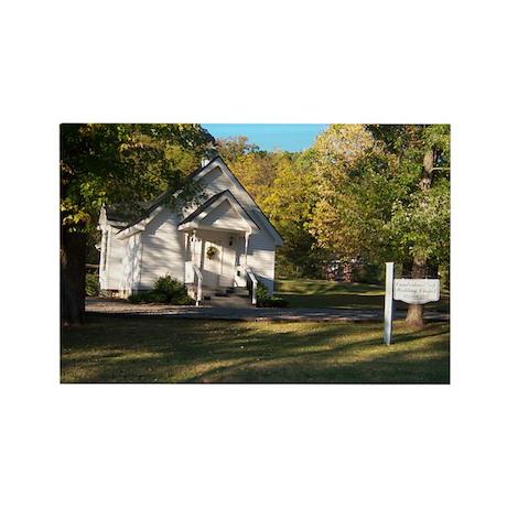 Cumberland Gap, Tn Wedding Ch Rectangle Magnet