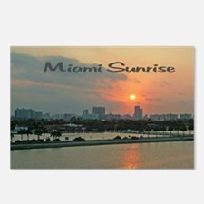 Miami Sunrise Postcards (Package of 8)