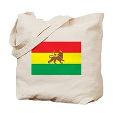 Ethiopia Flag 1897 Tote Bag