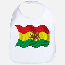 Wavy Ethiopia Flag Bib
