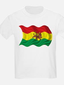 Wavy Ethiopia Flag T-Shirt