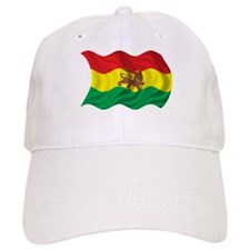 Wavy Ethiopia Flag Baseball Baseball Cap