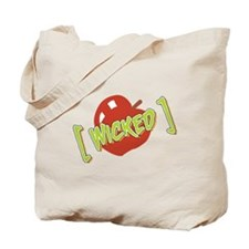WICKED RED APPLE sweet Tote Bag