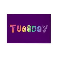 Cute Tuesday Rectangle Magnet