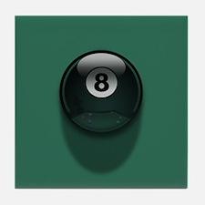 8-Ball Tile Coaster