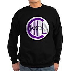 Cheer Circle Purple Sweatshirt