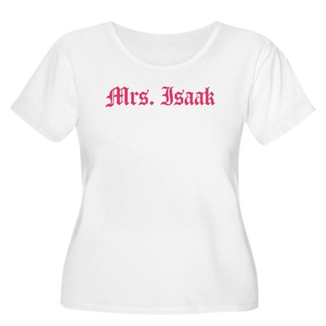 Mrs. Isaak Women's Plus Size Scoop Neck T-Shirt