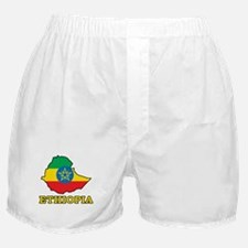 Map Of Ethiopia Boxer Shorts