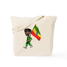 Cute 3D Ethiopia Tote Bag