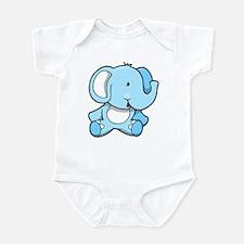 Elephant Sitting Infant Bodysuit