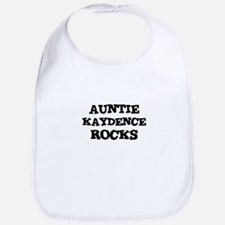 AUNTIE KAYDENCE ROCKS Bib