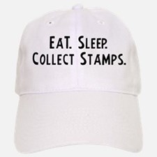 Eat, Sleep, Collect Stamps Baseball Baseball Cap