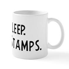 Eat, Sleep, Collect Stamps Mug