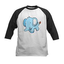 Blue Baby Elephant Walking Tee