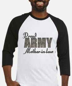 Proud Army Mother-in-law (ACU) Baseball Jersey