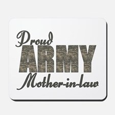 Proud Army Mother-in-law (ACU) Mousepad