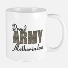 Proud Army Mother-in-law (ACU) Mug