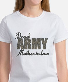 Proud Army Mother-in-law (ACU) Tee