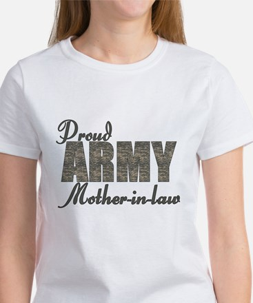 Proud Army Mother-in-law (ACU) Women's T-Shirt