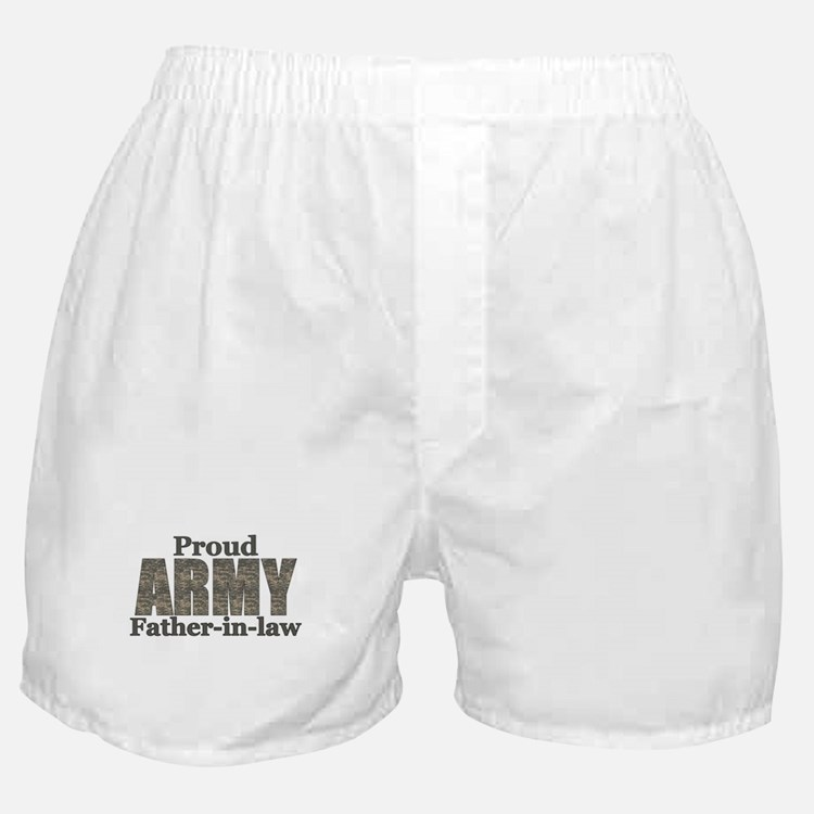 Proud Father-in-law (ACU) Boxer Shorts