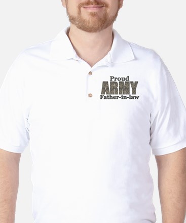 Proud Father-in-law (ACU) Golf Shirt