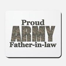 Proud Father-in-law (ACU) Mousepad