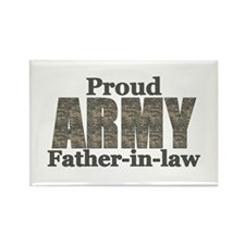 Proud Father-in-law (ACU) Rectangle Magnet