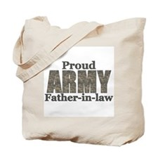 Proud Father-in-law (ACU) Tote Bag