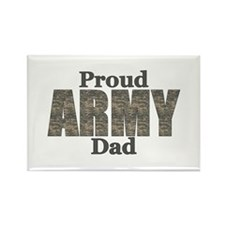 Proud Army Dad (ACU) Rectangle Magnet