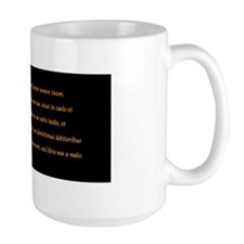 "Pater Noster (""Our Father"") Mug"