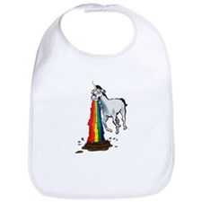 Funny Rainbows Bib