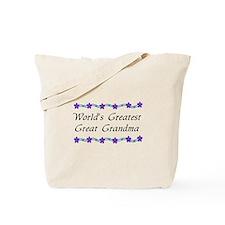 Greatest Great Grandma Tote Bag