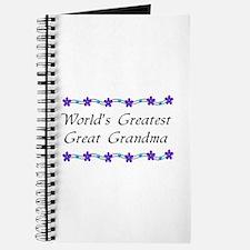 Greatest Great Grandma Journal