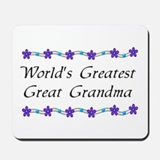 Greatest Great Grandma Mousepad