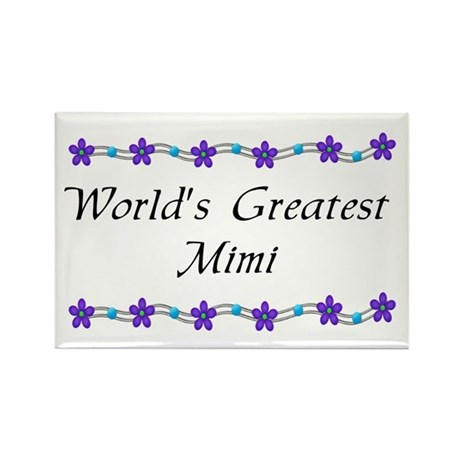 Greatest MiMi Rectangle Magnet