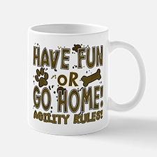 Have Fun Dog Agility Small Small Mug