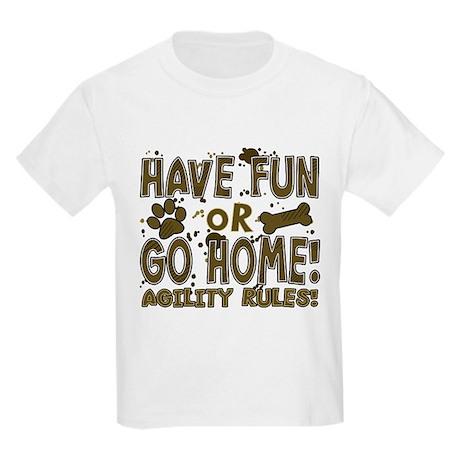 Have Fun Dog Agility Kids Light T-Shirt