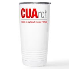 CUArch Travel Coffee Mug