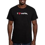 I love carbs Men's Fitted T-Shirt (dark)