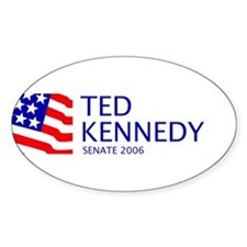 Kennedy 06 Oval Decal