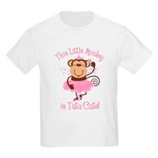 Tutu Cute Monkey T-Shirt