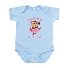 Tutu Cute Monkey Infant Bodysuit