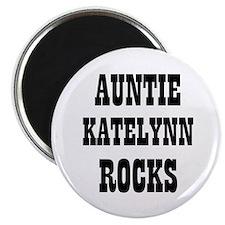 """AUNTIE KATELYNN ROCKS 2.25"""" Magnet (10 pack)"""