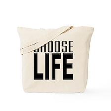 80's Choose Life Tote Bag