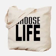80's Choose Life Tote Bag