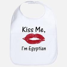 Kiss me, I'm Egyptian Bib